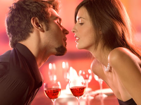 Noche romántica de San Valentín