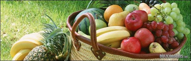 Frutas y verduras para dieta equilibrada