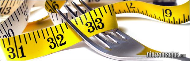 Trucos para bajar de peso rápido