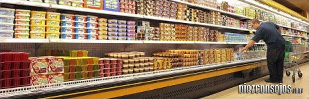Compra comida sana para perder peso